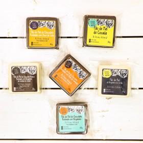 Kit De 6 Pães De Mel Sem Açúcar Refinado Sem Lactose (Sem Lácteos) Sem Glúten Low Carb A Dora Adora - 80 Gramas A Unidade