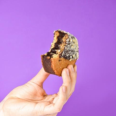 Sanduiche De Cookies Recheado Com Brigadeiro De Avelã - Sem Açúcar Sem Lactose (Sem Lácteos) Sem Glúten Low Carb A Dora Adora - 120 Gramas