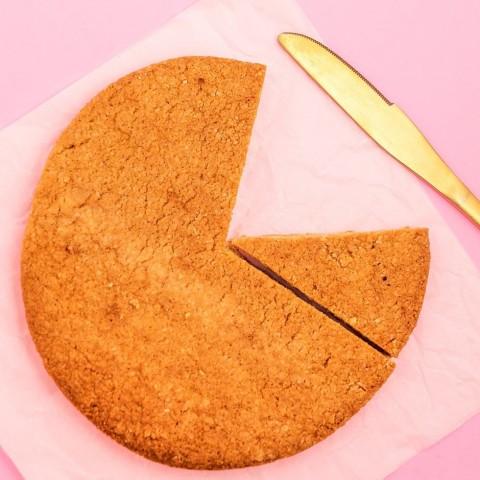 Cookies Gigante De Amêndoas - Sem Açúcar Sem Lactose (Sem Lácteos) Sem Glúten Low Carb A Dora Adora - 140 Gramas