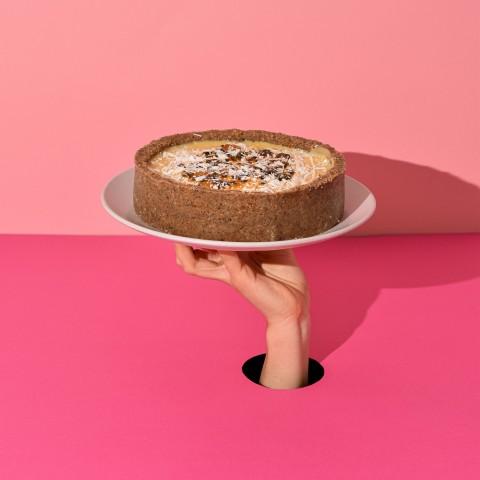 Torta De Mousse De Maracujá - Aproximadamente 1kg e 20g A Dora Adora