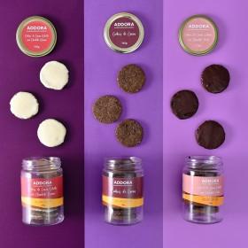 Kit de 3 Cookies de Pote de Amêndoas com Chocolate Sem Açúcar Sem Lactose Sem Caseína Sem Glúten Low Carb A Dora Adora