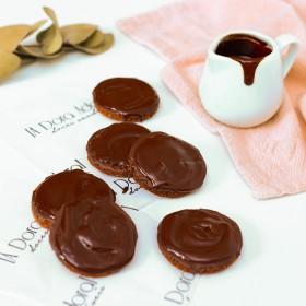 Cookies de Cacau Coberto com Chocolate Preto – 165g A Dora Adora