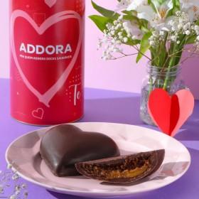 Coração de Chocolate Pão De Mel com Doce de Leite - 180 Gramas A Dora Adora